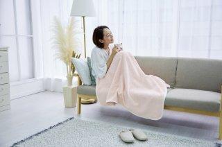 シール織 ハーフサイズ 綿毛布 お昼寝ケット ピンク 140cm×100cm  国産 【メーカー直販価格】