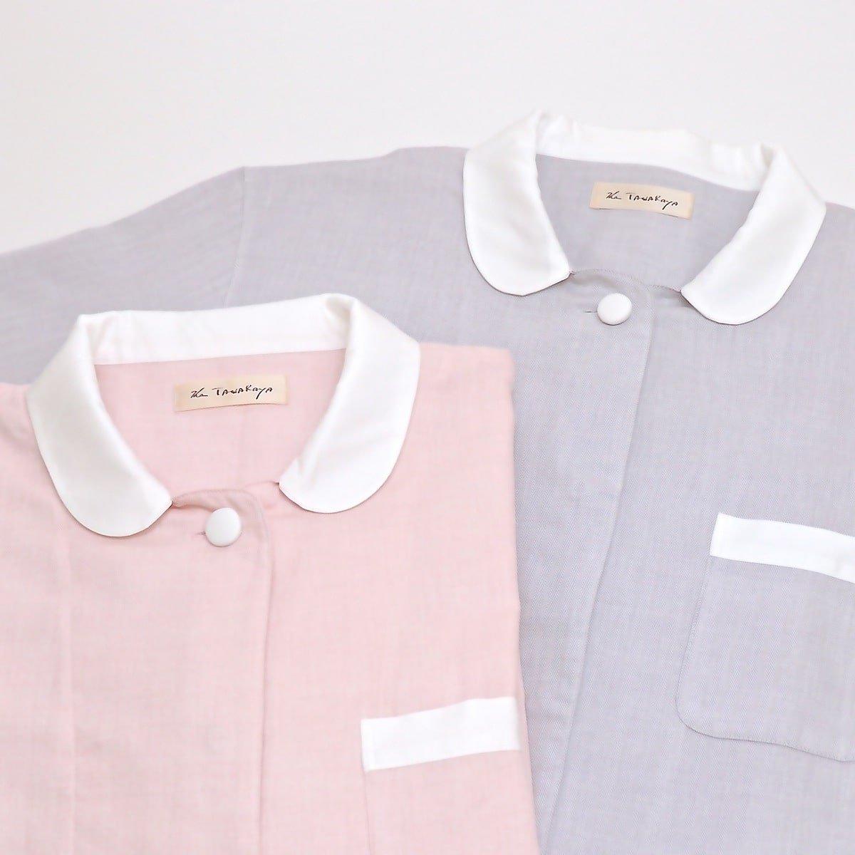 長袖パジャマ・襟付き