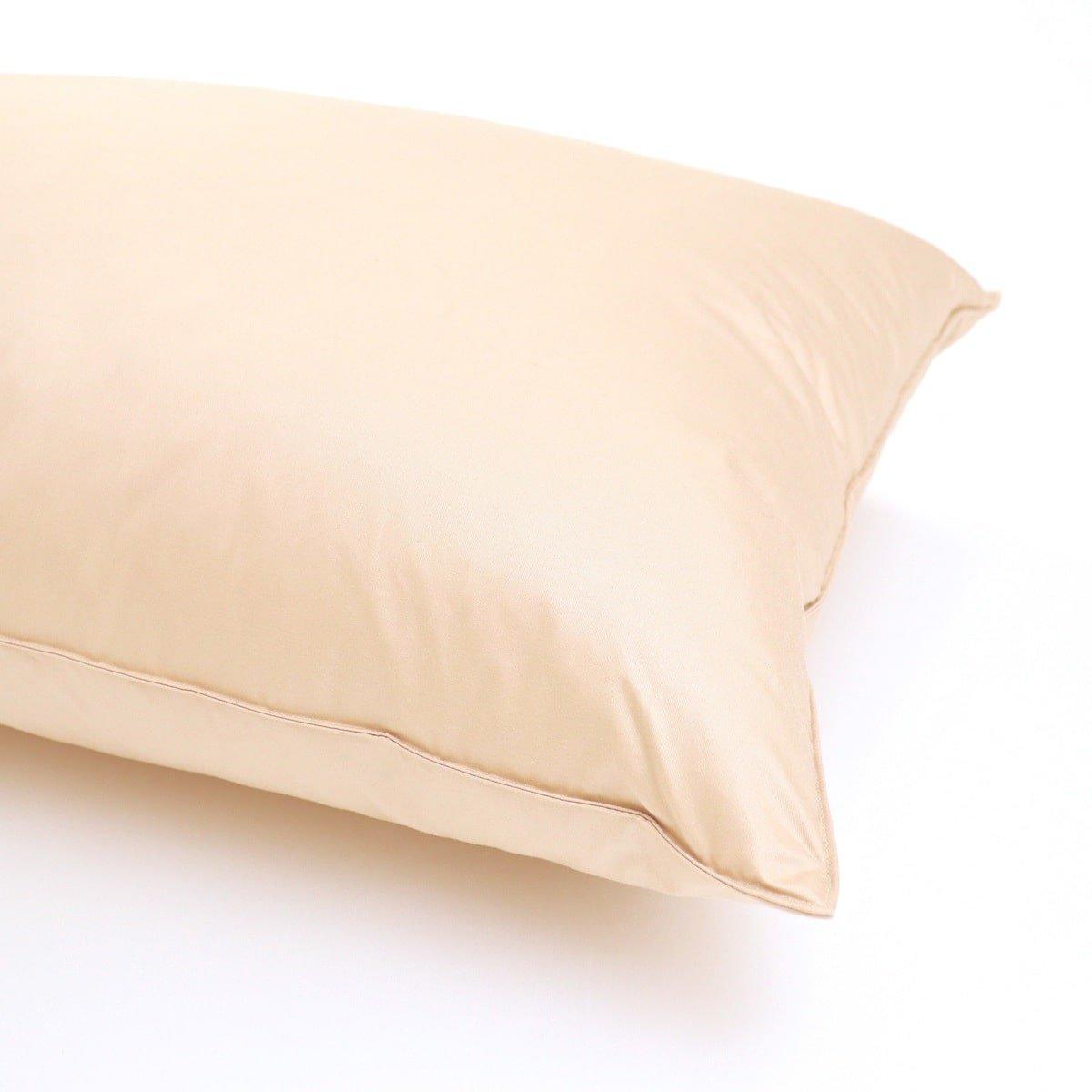 枕 硬め(フェザー100%)