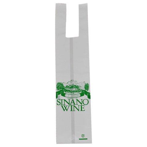 レジ袋ワイン、ジュース用1本用
