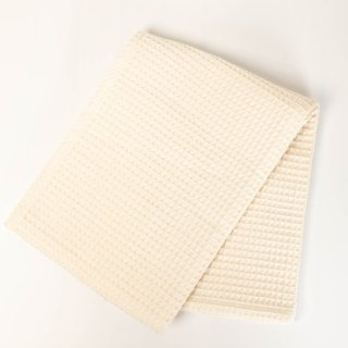 SLOW ORGANIC オーガニックコットン 手織りワッフルタオル