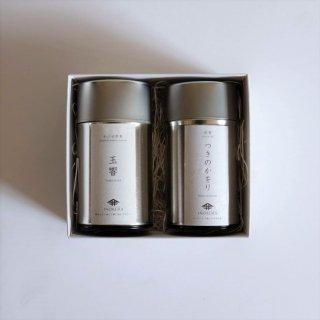 <p>玉響 【かぶせ煎茶】 80g</p><p> つきのかをり 【和紅茶】 60g </p>