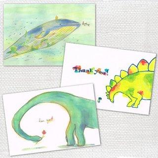 Post cards 3枚セット mariya A