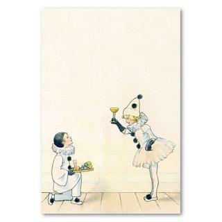 復刻版 post card 少年と少女