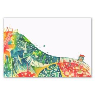 Post card mariya キノコと音楽