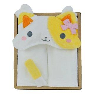 DA フードバスタオル ギフトセット キティ