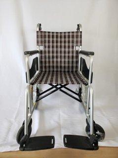 【日進医療器】NC-2CB アルミ製車椅子 介助型 非課税 No.50
