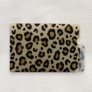 [Dセレクション紹介商品] セーフティマスクホルダー アニマル柄シリーズ  レオパード(ヒョウ)柄(Leopard)