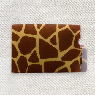 [Dセレクション紹介商品] セーフティマスクホルダー アニマル柄シリーズ キリン柄(Giraffe)