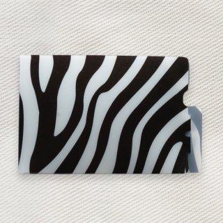 [Dセレクション紹介商品] セーフティマスクホルダー アニマル柄シリーズ ゼブラ柄(Zebra)