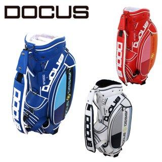 ドゥーカス スタイリッシュ キャディバッグ 9インチ メンズ レディース 大人 かっこいい おしゃれ 大容量 ゴルフ バッグ DOCUS DCC743