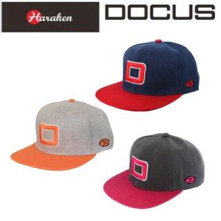ドゥーカス DOCUS フラットキャップ BIG D FLAT CAP メンズ ゴルフ フラット キャップ  DCCP708