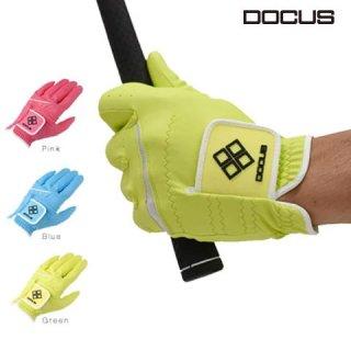 ドゥーカス DOCUS ゴルフ グローブ Glove ソーダブルー,パッシモピンク,メローイエロー DCGL-COLOR 702 片手用 18〜26cm DCGL702