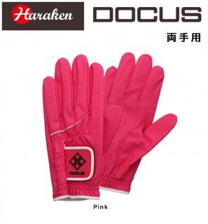 ドゥーカス DOCUS ゴルフ グローブ Glove DCGL-COLOR 702W パッシモピンク 両手用 18〜21cm