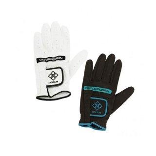 (メール便対応)ドゥーカス ゴルフ ツアーグローブ ホワイト ブラック [21-26] Glove DCGL-TOUR 711 [DOCUS]
