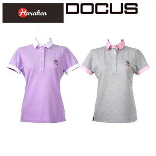 (クリアランス)ドゥーカス DOCUS レディースゴルフウェア クレリック シャツ DCL16S002