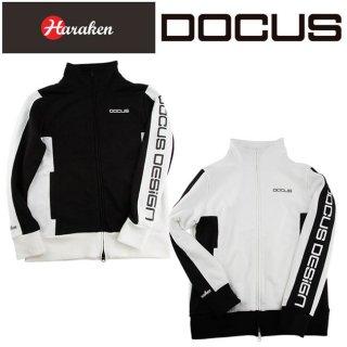 ドゥーカス トラックジャケット メンズ レディース 大人 クール かっこいい おしゃれ 秋冬 ゴルフウェア DOCUS DCM18A007