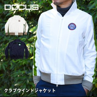 ドゥーカス DOCUS クラブウィンド ジャケット メンズ レディース ゴルフ ウェア DCM18A008