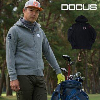 ドゥーカス クラシックパーカー メンズ 秋冬 ゴルフウェア 大人 かっこいい クール DOCUS Classic Parker DCM19A005
