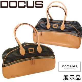 (訳あり)店頭ディスプレイ品 ドゥーカス DOCUS メンズゴルフ 日本製 ボストンバッグ 小山ゴルフモデル