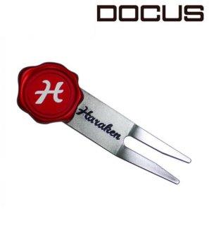 枚脱式 マーカー付き グリーンフォーク ドゥーカス メンズ レディース ゴルフ アクセサリー 高級 重厚 大人 かっこいい 機能性 ゴルフギア [DOCUS]