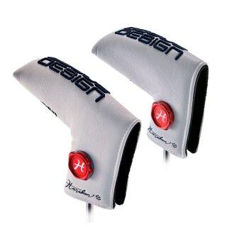 ()ドゥーカス DOCUS メンズゴルフ パターカバー マーカーセット Putter Cover Marker set for RAIDEN & HUGA