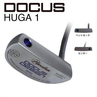 HUGA 1 パター スチールシャフト 装着モデル