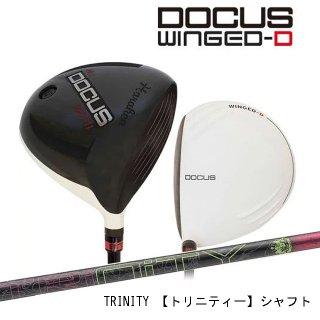 (カスタム)ドゥーカス DOCUS メンズゴルフクラブ DCD711 WINGED-Dメンズ ドライバー DOCUS TRINITYシャフト