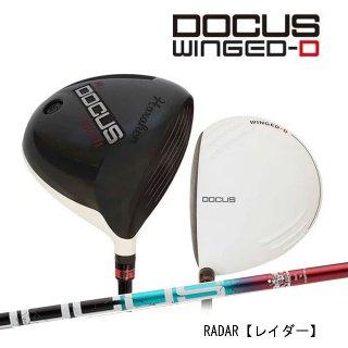 ドゥーカス DOCUS メンズゴルフクラブ DCD711 WINGED-Dメンズ ドライバー DOCUS RADERシャフト