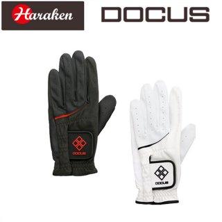 ドゥーカス DOCUS ゴルフ グローブ Glove ブラック×レッド,ホワイト×ブラック DCGL-TOUR 701 DCGL701