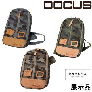 (訳あり)店頭ディスプレイ品 ドゥーカス DOCUS メンズゴルフ 日本製 ボディバッグ 小山ゴルフモデル