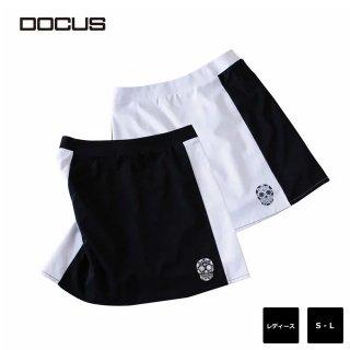バイカラー スカート ドゥーカス 2020 春夏 ゴルフ ウェア レディース シンプル クール かっこいい おしゃれ 女子 DOCUS BI Color DCL20S002