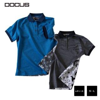 (クリランス) バック プリント ポロ ドゥーカス 2020 春夏 ゴルフ ウェア大人 目立つ おしゃれ 半袖 ポロシャツ  DOCUS DM Back Print Polo dcl20s004