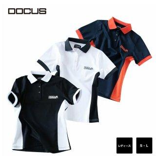バイカラー ポロ ドゥーカス 2020 春夏 ゴルフ ウェア 大人 かっこいい クール おしゃれ シャツ DOCUS BI COLOR POLO dcl20s005