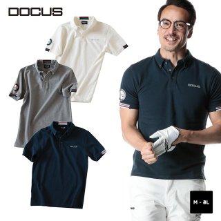 クラブポロ 2020 春夏 モデル 半袖ポロ ゴルフ ウェア メンズ 大人 かっこいい おしゃれ  DOCUS Club Polo dcm20s001