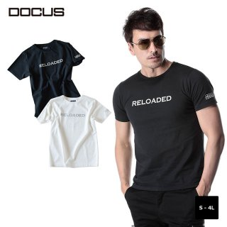 ストリート Tシャツ ドゥーカス 2020 春夏 ゴルフ ウェア メンズ 大人 かっこいい おしゃれ 半袖 スカル DOCUS Street T dcm20s006