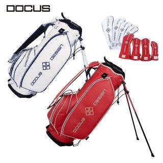 ドゥーカス スタンドキャディバッグ DOCUS Stylish Stand Bag スタイリッシュ スタンド バッグ メンズ ゴルフ 9型 DCC751s ヘッドカバー付き