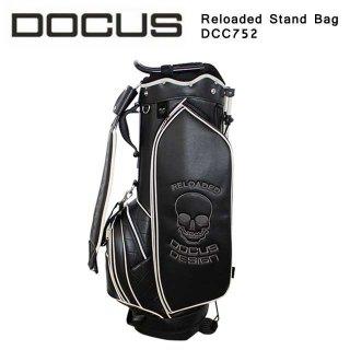 スタンドキャディバッグ  DOCUS Reloaded Stand Bag リローデッド スタンド バッグ メンズ ゴルフ 9型 DCC752