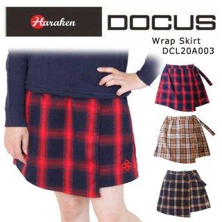 (クリアランス)ラップ スカート ドゥーカス 2020 秋冬 ゴルフ ウェア レディース 大人 可愛い おしゃれ DOCUS Wrap Skirt DCL20A003