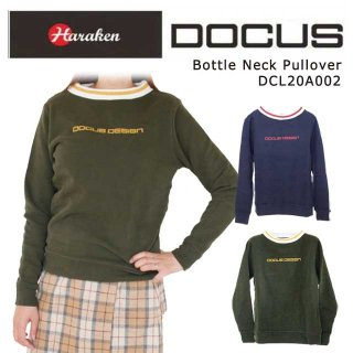 (クリアランス)ボトルネック プルオーバー 秋冬 ゴルフ ウェア レディース DOCUS Bottle Neck Pullover DCL20A002