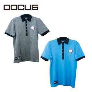 クラブポロ 2021 春夏 モデル 半袖ポロ ゴルフ ウェア メンズ 大人 かっこいい おしゃれ  DOCUS Club Polo dcm20s001
