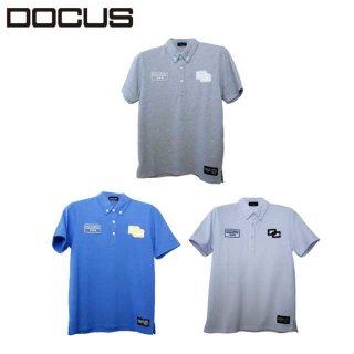 バック ストライプ ポロ 2021 春夏 ゴルフ ウェア メンズ 半袖 ポロシャツ DOCUS Back Stripe Polo dcm21s003