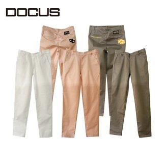 ドゥーカス 2021 春夏 DOCUS dcm21s011 CHENILLE LONG PANTS ロングパンツ