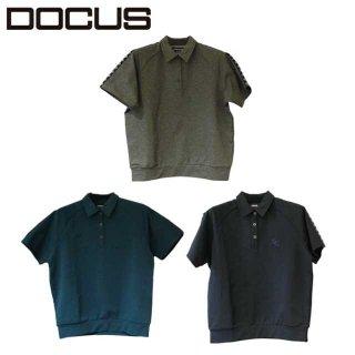 ポロ ドゥーカス 2020 春夏 ゴルフ ウェア大人 目立つ おしゃれ 半袖 ポロシャツ  DOCUS  DCL21S005 Tape Polo テープポロ