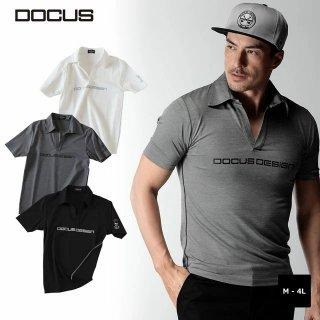 クラブポロ 2020 春夏 モデル 半袖ポロ ゴルフ ウェア メンズ 大人 かっこいい おしゃれ  DOCUS Club Polo dcm20s002