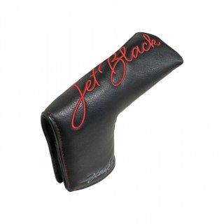 【限定】 DOCUS ドゥーカス パターカバー 特別仕様モデル JET BLACK RAIDEN用 ピンタイプ ブレードタイプ Putter Cover 限定刺繍 レッドステッチ