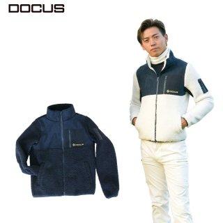 DOCUS メンズ レディース ジャケット MOCO Jacket 秋冬ウェア ネイビーxネイビー ネイビーxオフホワイト 男女兼用 DCM21A003 dcap21aw