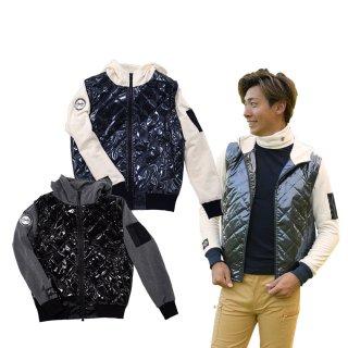 DOCUS メンズ ジャケット 2Way Volume Jacket 21 秋冬ウェア ネイビー ブラック DCM21A004 dcap21aw