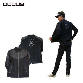 (9月末発売)DOCUS メンズ ライダースジャケット Rider's Jacket 21 秋冬ウェア ブラック ネイビー オフホワイト DCM21A005 dcap21aw