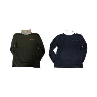 (9月末発売)DOCUS メンズ ハイネックプルオーバー High Neck Pullover 秋冬ウェア ネイビー チャコール DCM21A007 dcap21aw